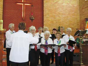 CWA Choir in Christ Church Swan Hill